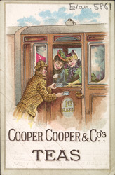 Advert for Cooper, Cooper & Co, tea